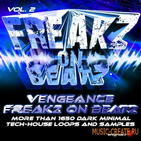 Vengeance - Freakz On Beatz Vol.2 (WAV) - сэмплы tech house, minimal