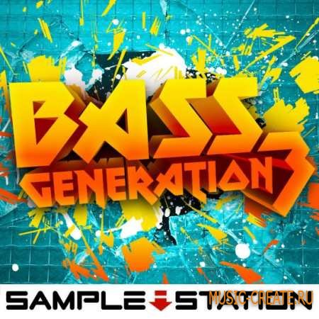 Sample Station - Bass Generation 3 (WAV) - сэмплы Drum & Bass, Breaks, Electro House, Dubstep, Glitch Hop