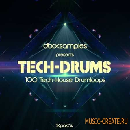 dboxsamples - Tech Drums (MULTiFORMAT) - драм лупы