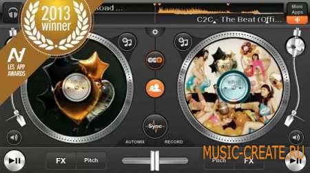 edjing Pro. DJ Mix Song Studio v1.2.4 (Android OS 4.0+)