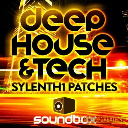 Soundbox - Deep House and Tech Sylenth1 Patches (Sylenth presets)