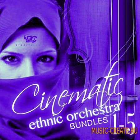 Big Citi Loops - Cinematic Ethnic Orchestra Bundle (MULTiFORMAT) - сэмплы оркестровых инструментов