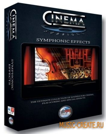 Sonic Reality - Cinema Sessions Symphonic Effects (KONTAKT) - библиотека оркестровых эффектов