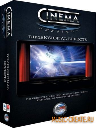 Sonic Reality - Cinema Sessions Dimensional Effects (KONTAKT) - библиотека звуковых эффектов
