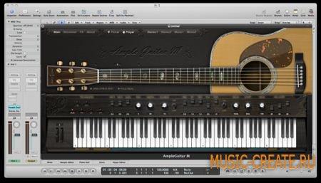 Ample Sound AGM2 v2.5.5 (Team P2P) - инструмент и сэмплы гитары Martin D-41