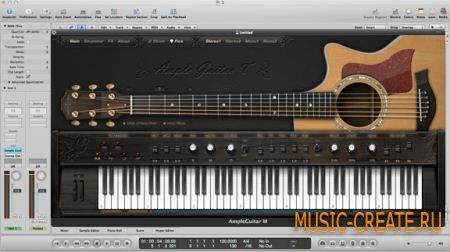Ample Sound - AGT v1.6.0 (TEAM R2R) - инструмент и сэмплы гитары Taylor 714