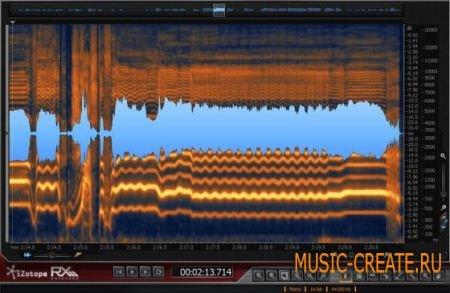 iZotope - RX 3 Advanced v3.02 Win / MacOSX (TEAM R2R) - плагин восстановления аудио