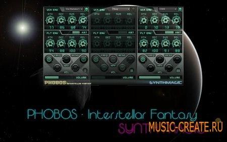 Synth Magic - Phobos mkII (KONTAKT) - библиотека цифровых синтезаторов 80-х годов