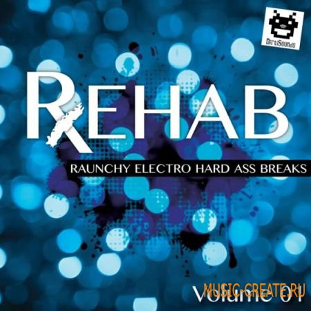 Dirtisounds - REHAB Vol.1 (WAV) - сэмплы Breaks, Big Beat, Indie Dance