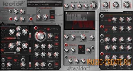 Waldorf Lector v1.1.0 (Team R2R) - плагин вокодер