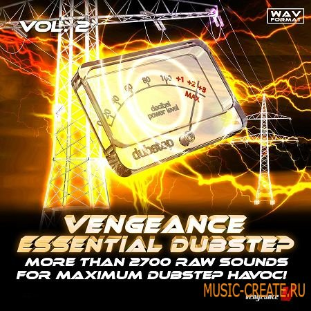 Vengeance - Essential Dubstep Vol.2 (WAV) - сэмплы Dubstep