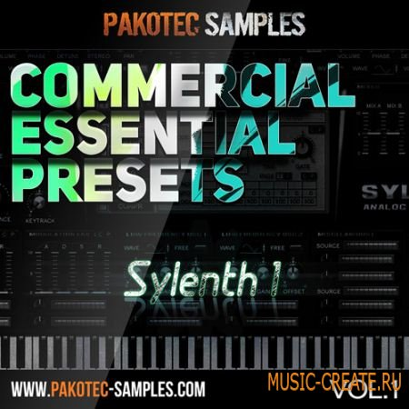 Pakotec Samples - Commercial Essential Presets Vol 1 For Sylenth1 (FXB)