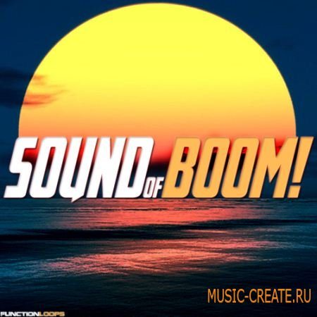 Function Loops - Sound Of BOOM! (WAV MIDI) - сэмплы Psy-Trance