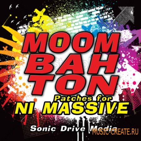 Sonic Drive Media - Moombahton Vol 1 for NI Massive (Massive presets)