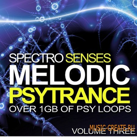 Ronei Music - Spectro Senses Melodic Psytrance Loops Vol 3 (WAV) - сэмплы Psychedelic Trance