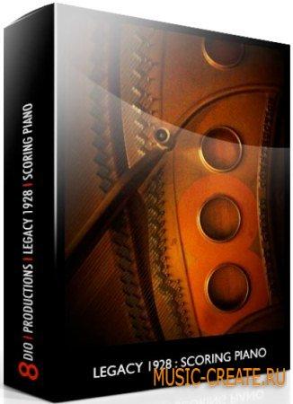 8Dio - Legacy 1928 Steinway: Scoring Piano v1.5 (KONTAKT) - библиотека звуков рояля