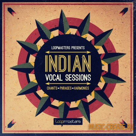 Loopmasters - Indian Vocal Sessions (WAV REX2) - вокальные сэмплы