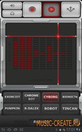 mikrosonic - RoboVox - Voice Changer Pro v1.7.0 (ANDROID 2.3.3+) - диктофон, вокодер
