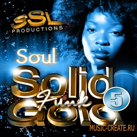 SSL Productions - Solid Gold Funk 5 (WAV) - сэмплы Funk