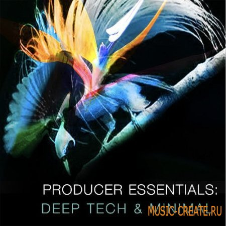 SPF Samplers - Producer Essentials: Deep Tech and Minimal (WAV MiDi Sylenth1 Presets) - сэмплы Deep House, Techno, Tech House, Minimal