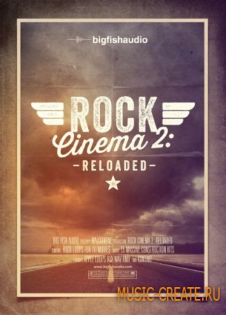 Big Fish Audio  - Rock Cinema 2 Reloaded (MULTiFORMAT) - сэмплы Rock