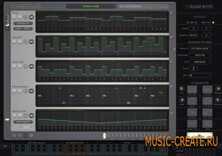 Sugar Bytes - Thesys v1.6.2 WiN / OSX (Team R2R) - MIDI шаговый секвенсор