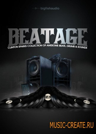 Big Fish Audio - Beatage (MULTiFORMAT) - сэмплы Hip Hop