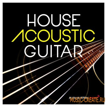 Push button bang house acoustic guitar wav for Banging house music