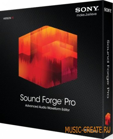 SONY - Sound Forge Pro 11.0 build 338 Portable (Team P2P) - мощный звуковой редактор