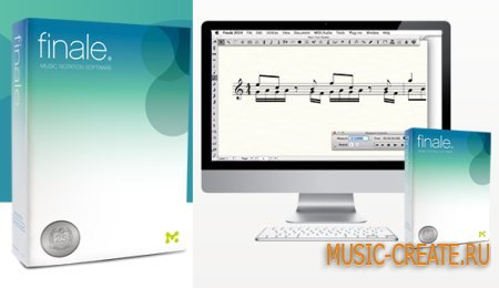 MakeMusic Finale 25.2.0.92 WiN / MacOSX (Team P2P) - нотный редактор