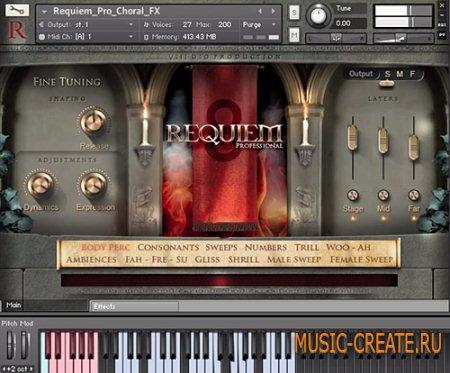 8DIO - Requiem Professional v.1.1 (KONTAKT) - библиотека звуков хора