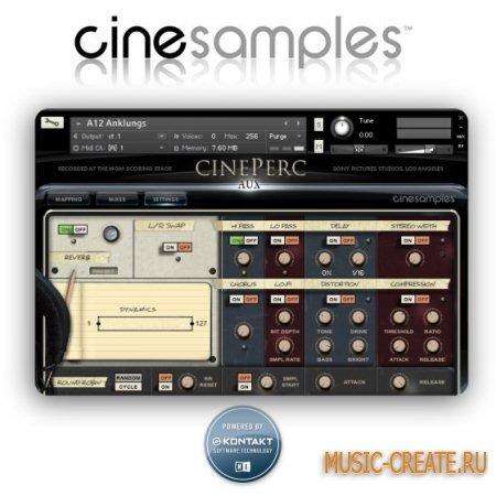 CineSamples - CinePerc EPIC v.1.1 (KONTAKT) - библиотека звуков перкуссии
