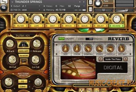 Sample Logic - Thunder Springs (KONTAKT) - библиотека звуков перкуссии
