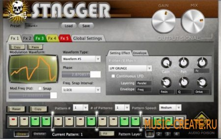 Audio Poison - Stagger v1.0.3 (Team R2R) - мульти-эффект