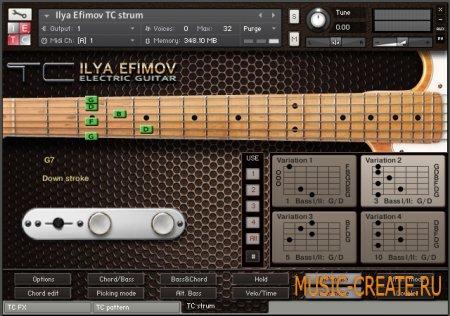 Ilya Efimov - TC Strum (KONTAKT) - библиотека сэмплов аккомпанирующей гитары