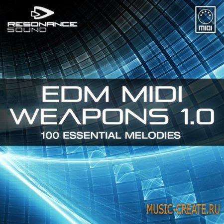 Resonance Sound - EDM MIDI Weapons 1.0 (MIDI) - мелодии EDM
