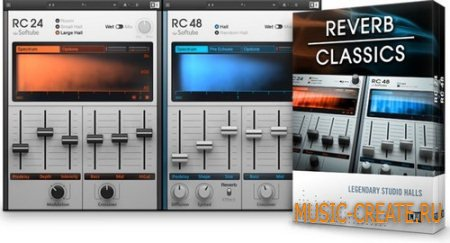 Native Instruments - RC 24 & RC 48 v1.1.0 (Team R2R) - плагин ревербератор