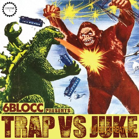 Industrial Strength Records - 6Blocc: Trap VS Juke (MULTiFORMAT) - сэмплы Trap