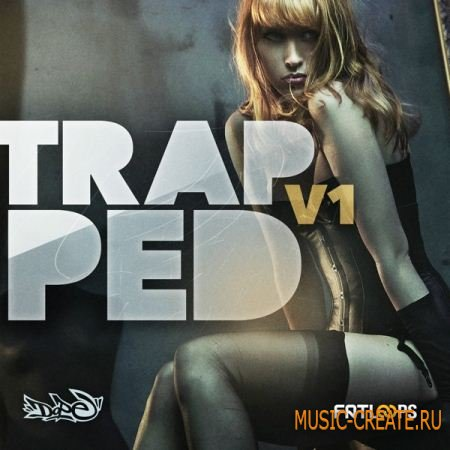 Fatloud - Trapped Vol.1 (ACiD WAV AiFF) - сэмплы Trap, Hip Hop, Dubstep