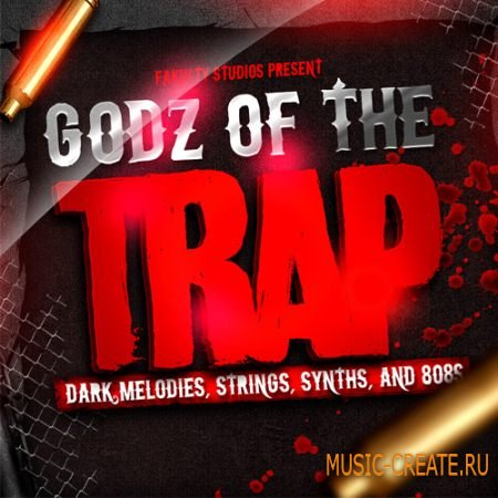 Fakulty Studios - Godz Of The Trap (WAV) - сэмплы Trap