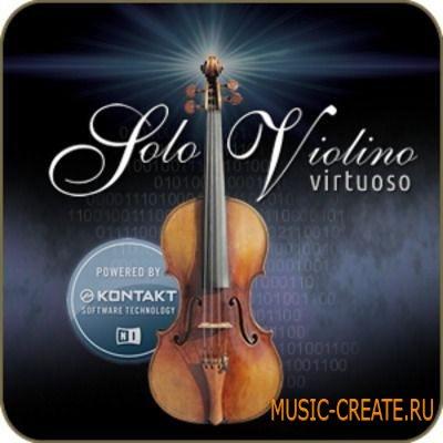 4SCORING - Solo Violin Virtuoso v.2.0.0.2 (KONTAKT) - библиотека звуков скрипки