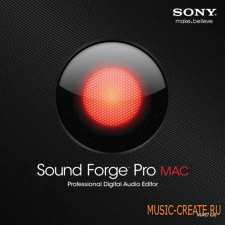 Sony - Sound Forge Pro Mac v1.0.26 Build 1 MAC OSX- FFF - мощный звуковой редактор