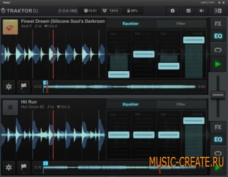 Native Instruments - Traktor DJ v1.4.0 iPhone iPad