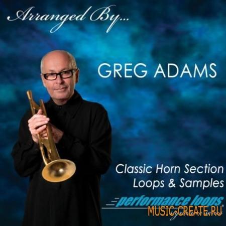 Performance Loops - Greg Adams Classic Horn Section (MULTiFORMAT) - сэмплы горна