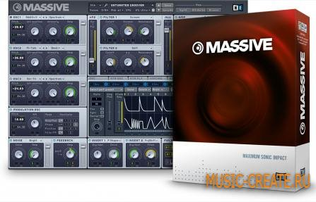 Native Instruments Massive v1.4.0 Win x86 x64 (Team R2R) + 340 Banks