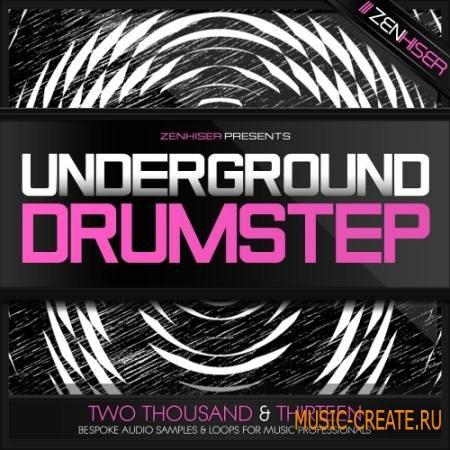 Zenhiser - Underground Drumstep (WAV) - сэмплы Drumstep, Dubstep, Trapstep, Drum & Bass