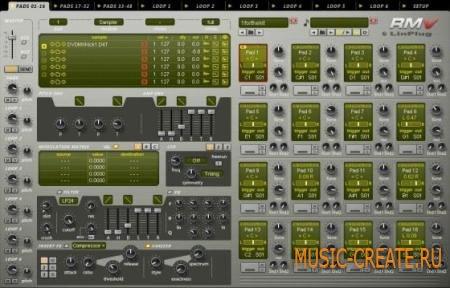 LinPlug - RMV v5.1.5 VSTi WIN/MacOSX (Team R2R) - барабанный сэмплер