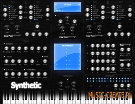 SBAudio - Synthetic v1.1.3 (Team R2R) - синтезатор