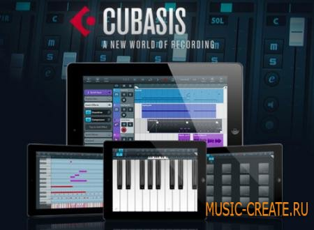 Steinberg - Cubasis v1.7.2 for iPad (iOS) - мультитач секвенсор