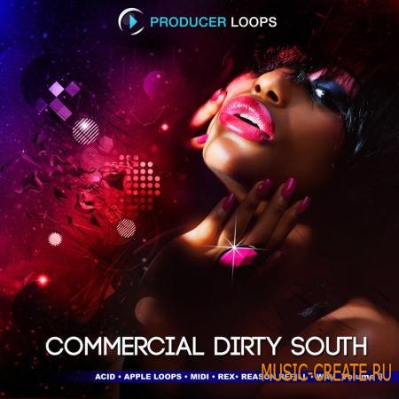 Producer Loops - Commercial Dirty South Vol.3 (MULTiFORMAT) - сэмплы Dirty South, Hip Hop